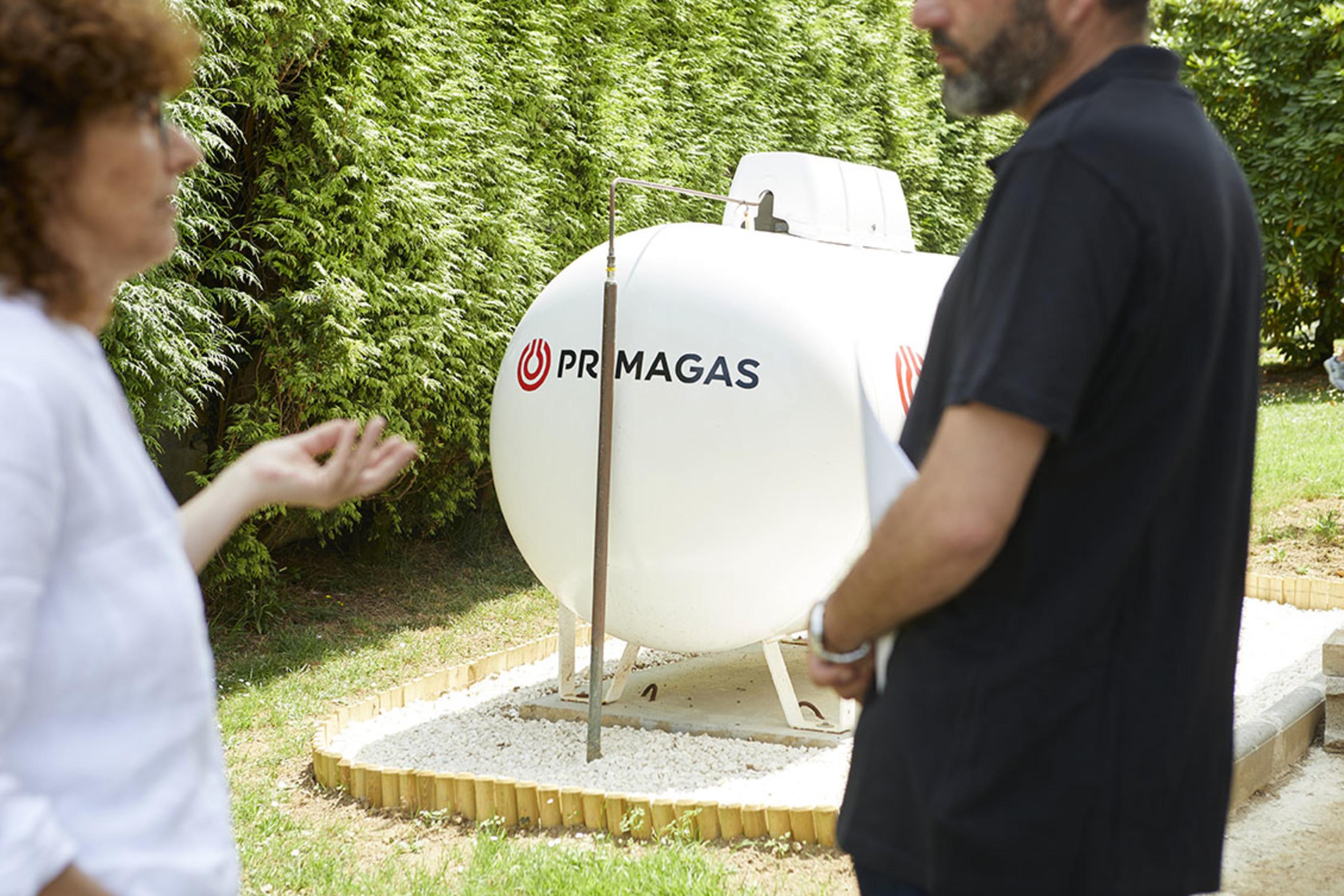 Propanové vytápění PRIMAGAS