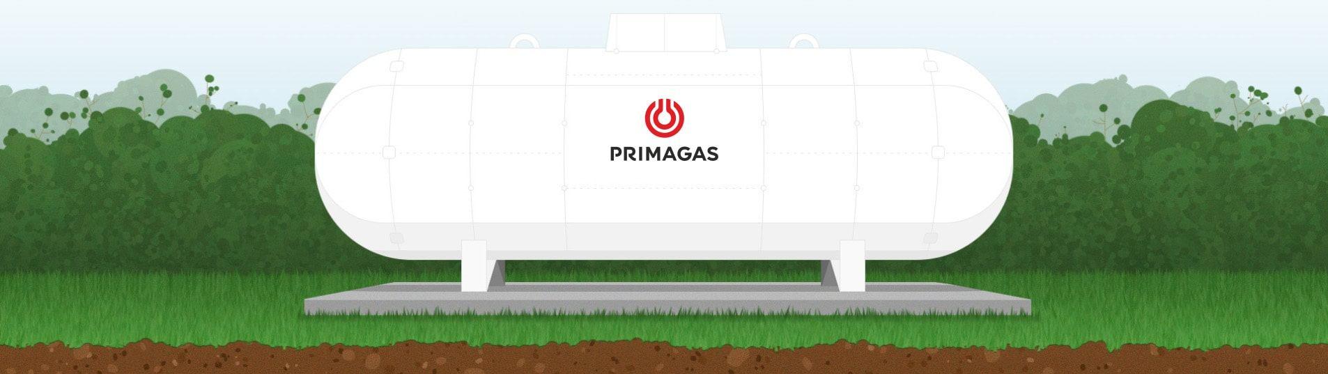LPG nádrž PRIMAGAS nadzemní